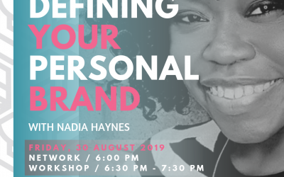 DEFINING YOUR PERSONAL BRAND (WORKSHOP)